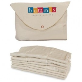 Bummis Organic Cotton Prefolds 7-18 κιλά