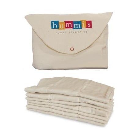 Bummis Organic Cotton Prefolds 7-18 κιλά