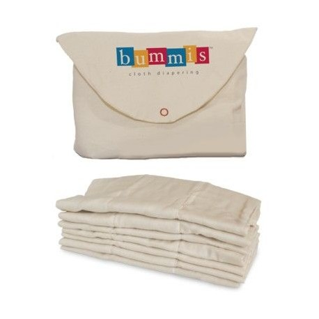 Bummis Organic Cotton Prefolds 3-9 κιλά