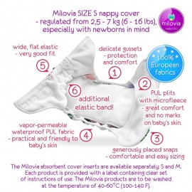 Milovia Nappy Cover Newborn